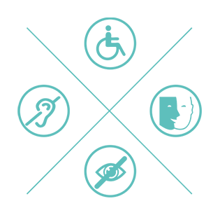 Picto soutien au handicap