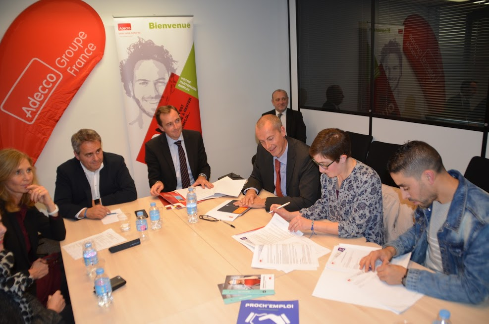 Signature convention Adecco Hauts de France